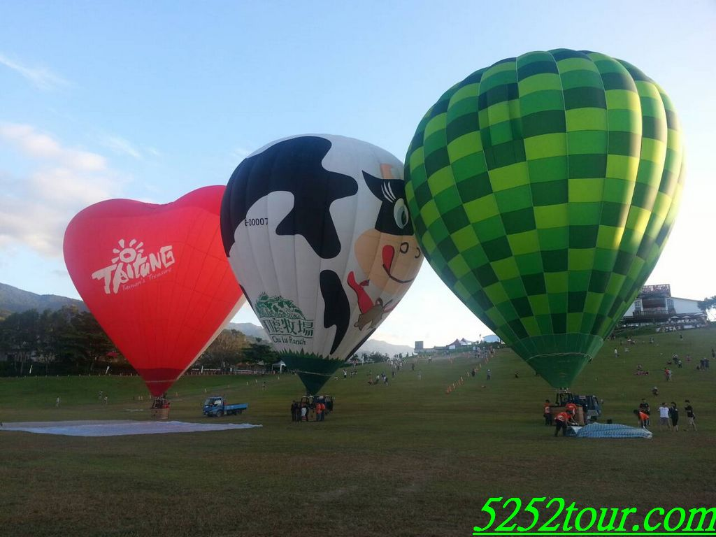 台東鹿野高台熱氣球 luye gaotai the hotair balloon
